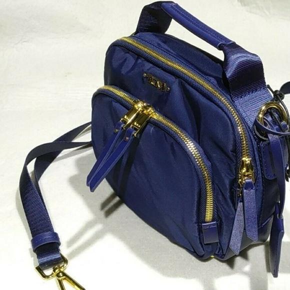 Voyageur Troy Crossbody bag nylon dark blue